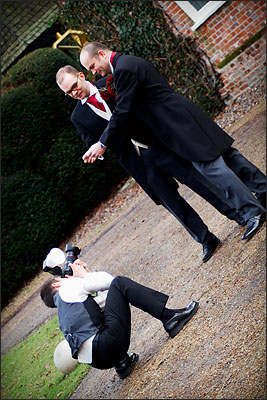 DaveBulow at work, Yaxley Hall. -                                 DaveBulow Photography